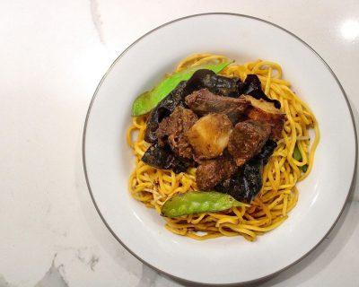 Braised Beef + Noodles