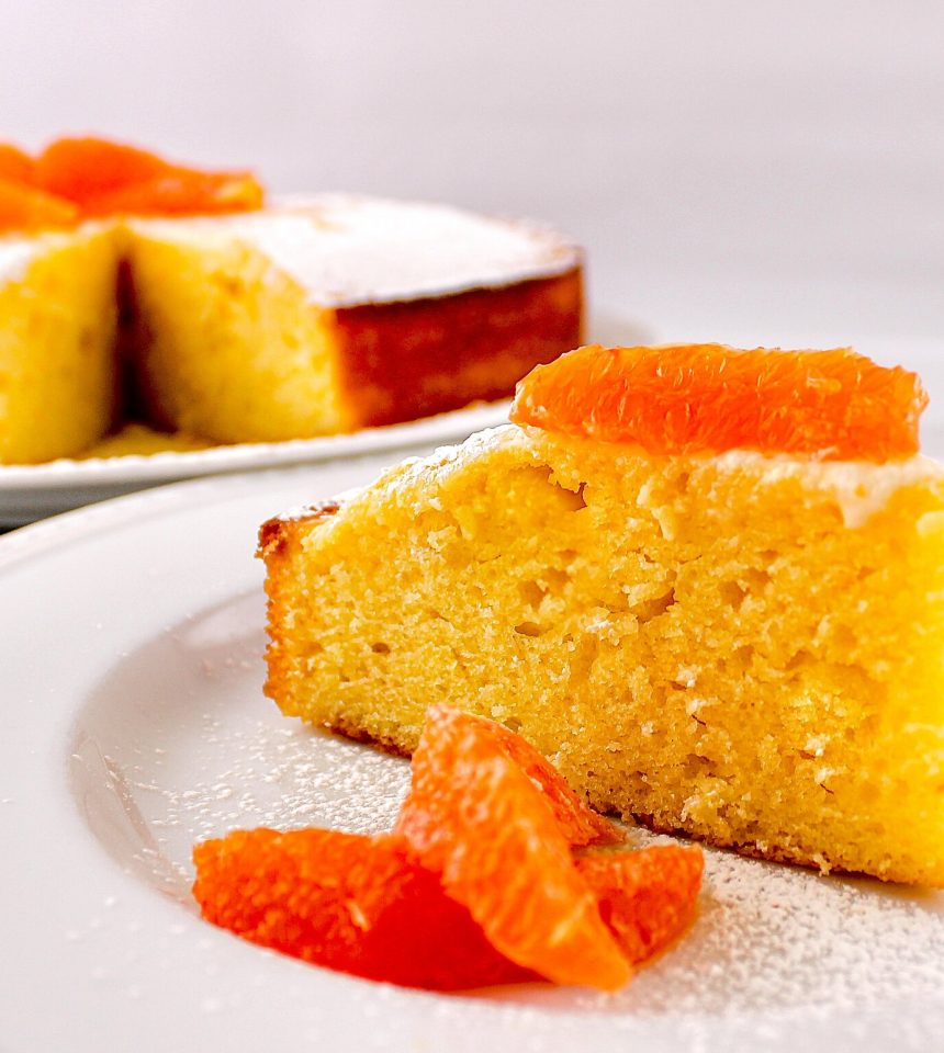 Edible Boston | Orange Yogurt Cake