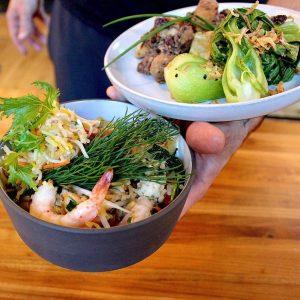 Shrimp and Basil Fried Rice