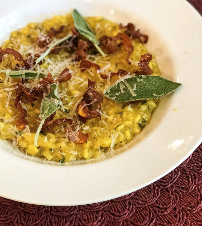 Edible Boston | Pumpkin Risotto